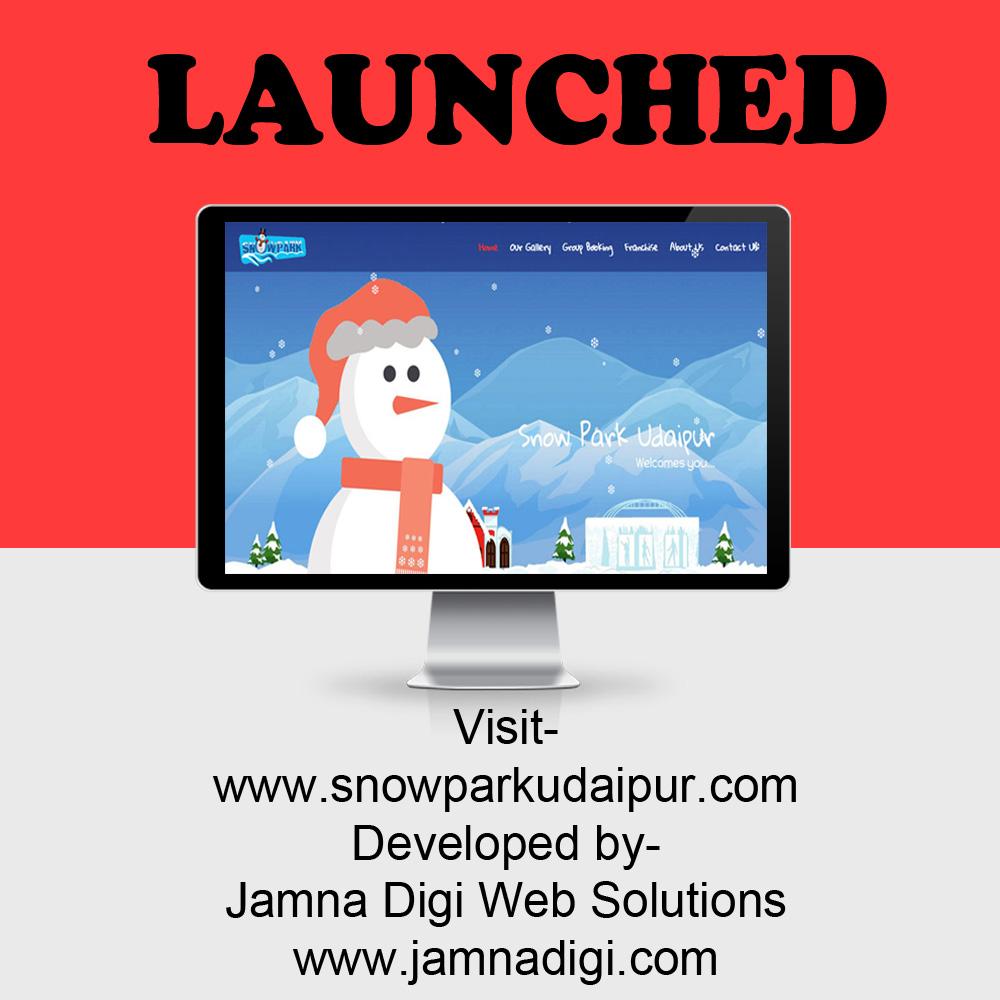 www.snowparkudaipur.com Launched